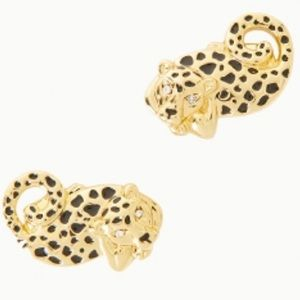 NWT Lilly Pulitzer Leopard / Cheetah Earrings